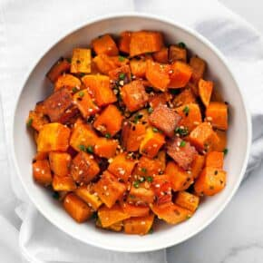 Everything Roasted Butternut Squash