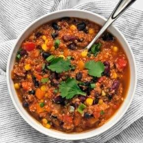 One Pot Quinoa Chili
