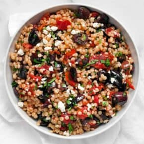 Roasted Tomato Olive Couscous