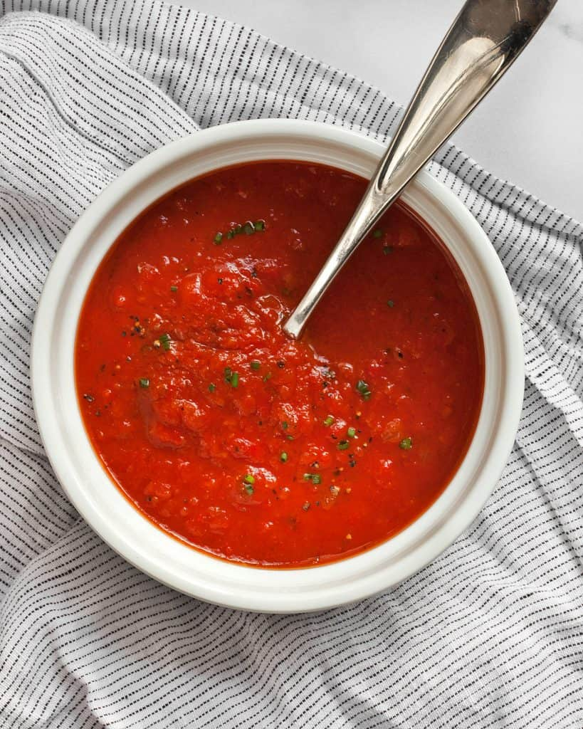 Chipotle Roasted Red Pepper Tomato Soup