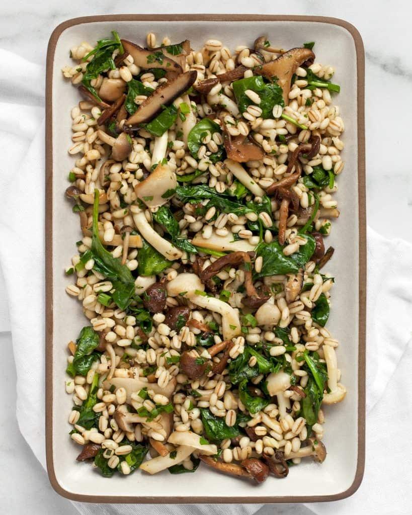 Wild Mushroom Barley