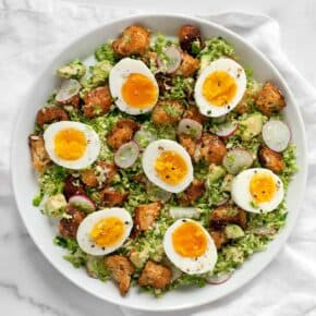 Brussels Sprout Breakfast Salad