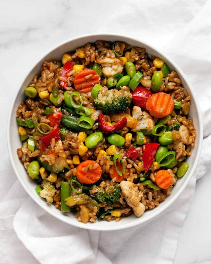 Frozen Vegetable Stir-Fry