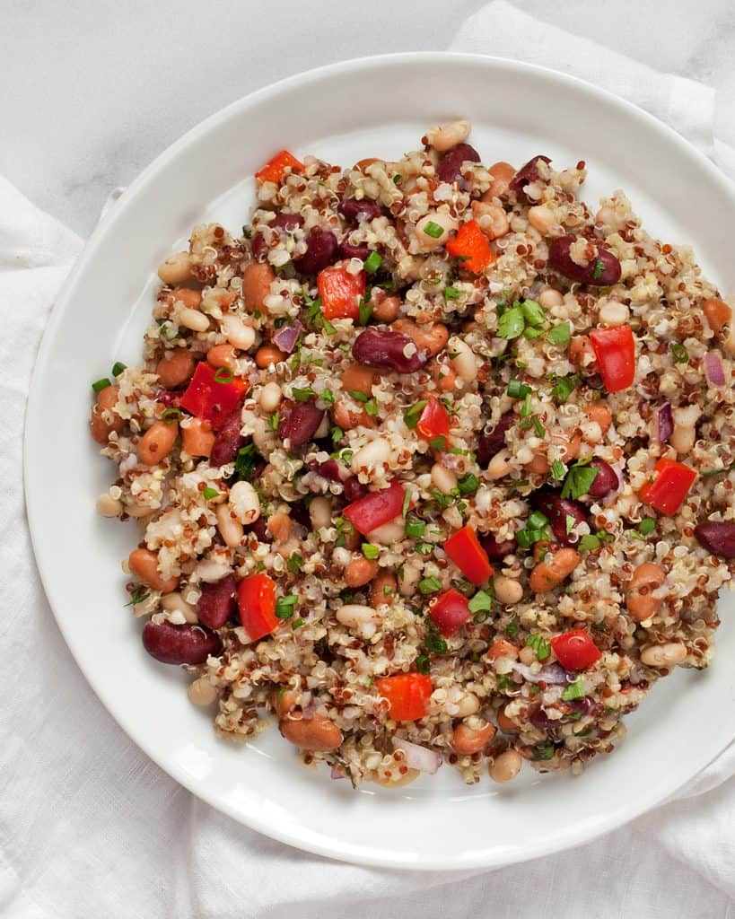 Three bean Grain Salad