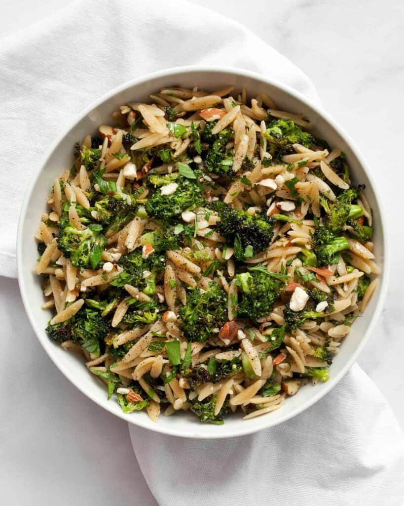 Roasted Broccoli Orzo