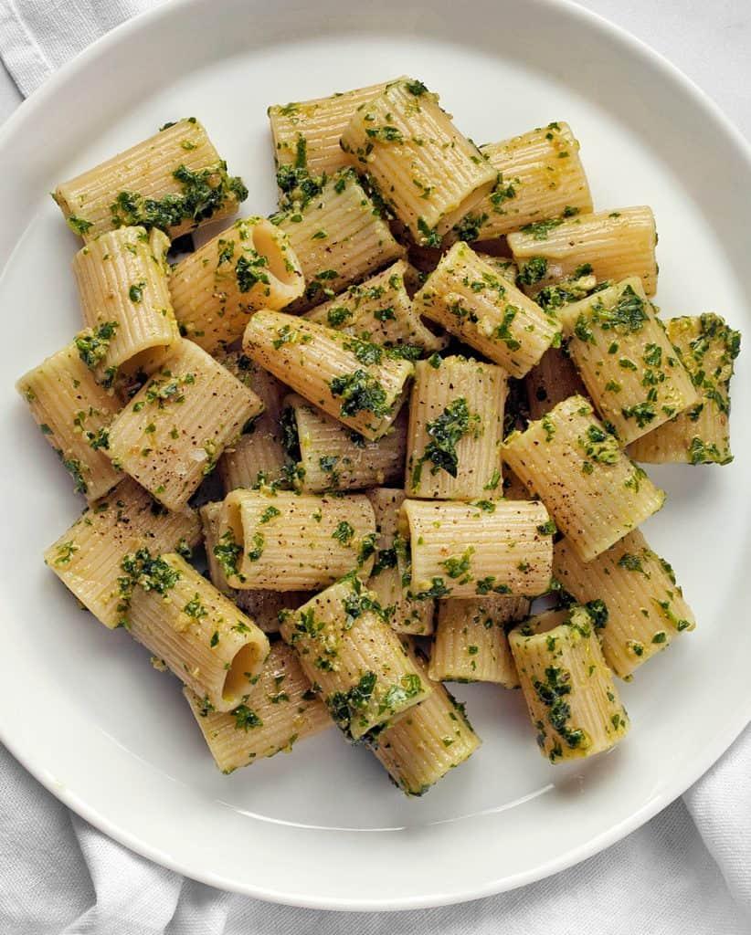 Vegan Kale Arugula Pesto