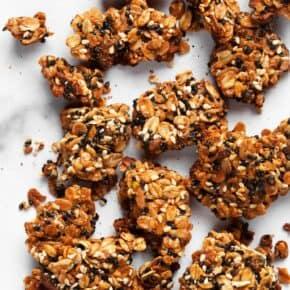 Chunky Sesame Tahini Granola