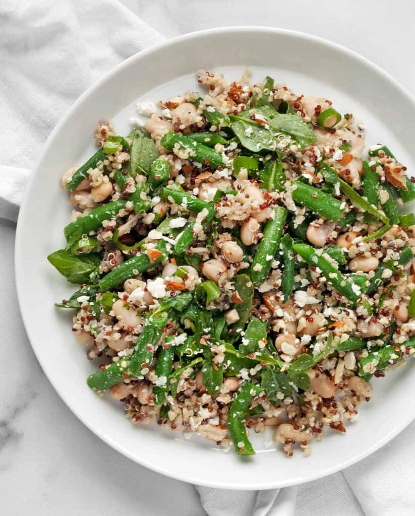 Green Bean White Bean Quinoa