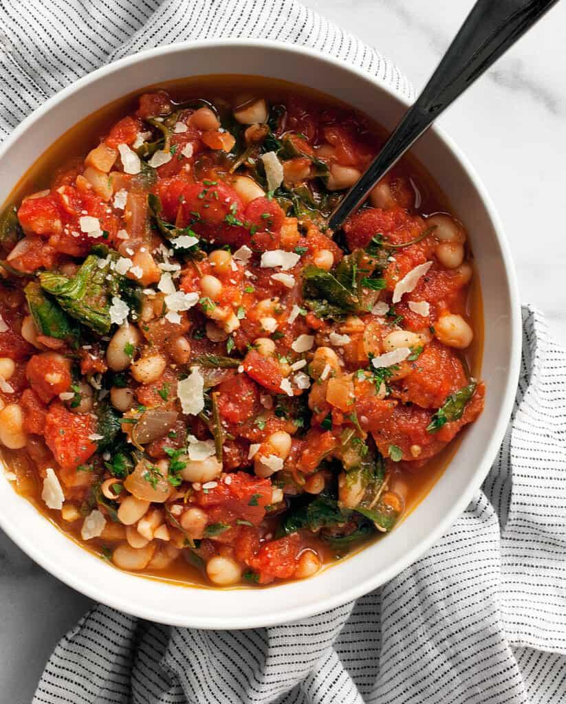 Rosemary White Bean Tomato Soup