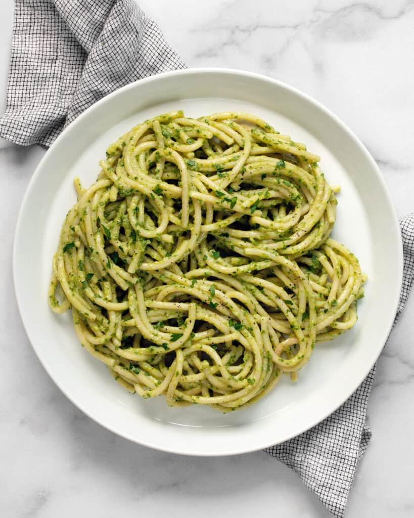 15-Minute Vegan Avocado Pasta