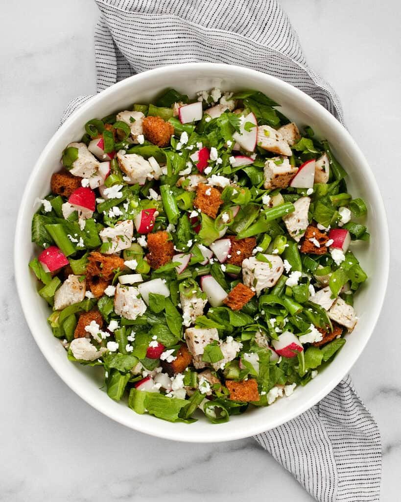 Roast Chicken Chopped Salad