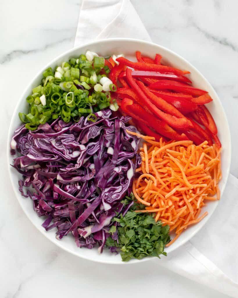 Sesame Noodle Vegetables