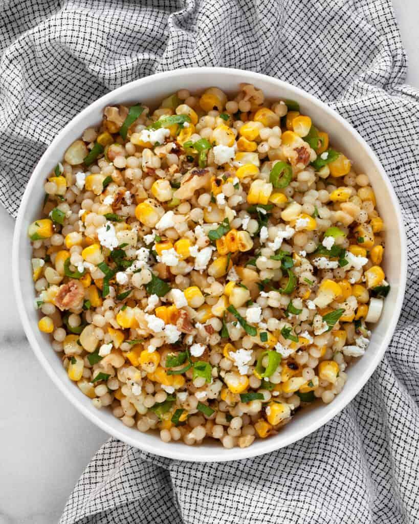 Grilled Corn Couscous