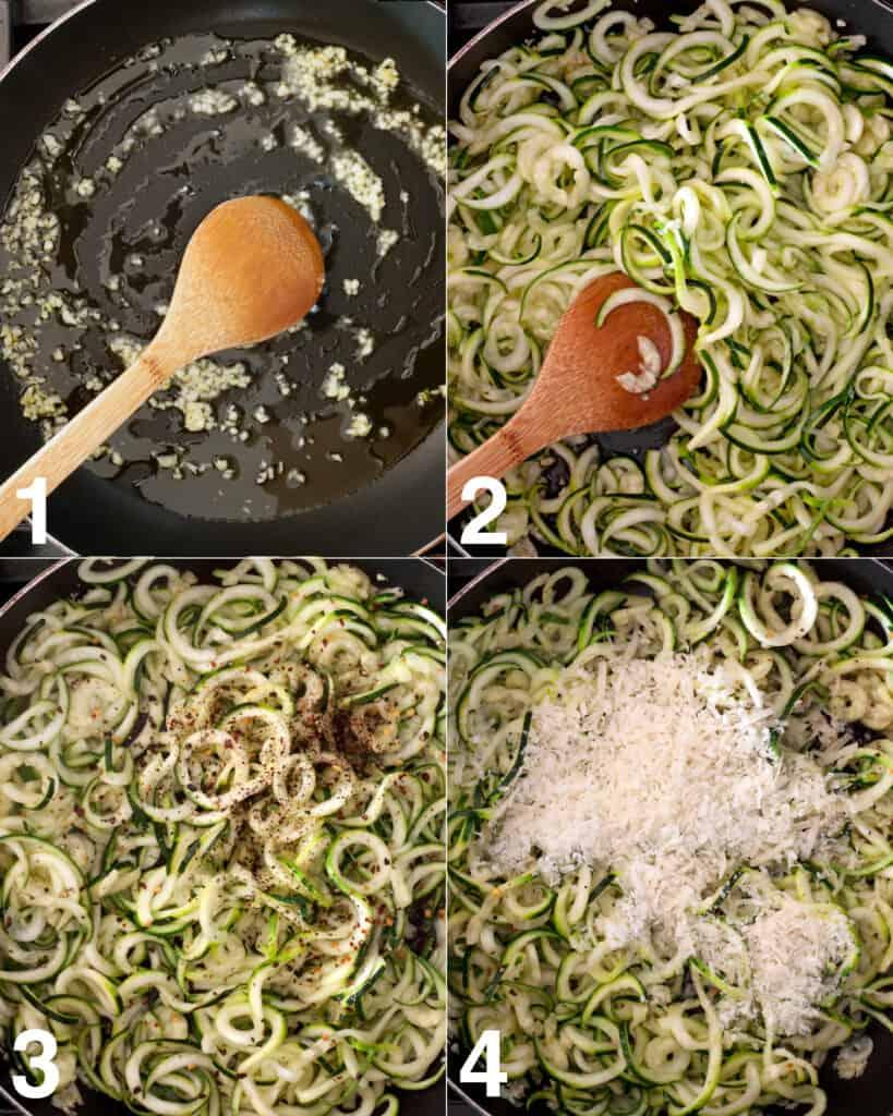 How TO Make Zucchini Cacio e Pepe