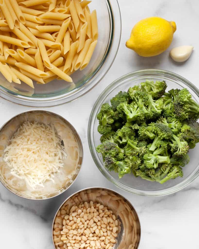 Broccoli Pasta Ingredients