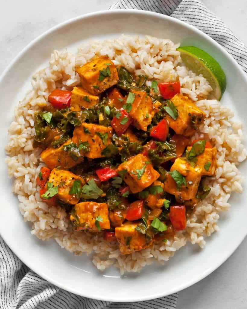 Tofu Pumpkin Curry