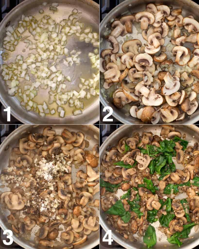 Steps to make baked gnocchi