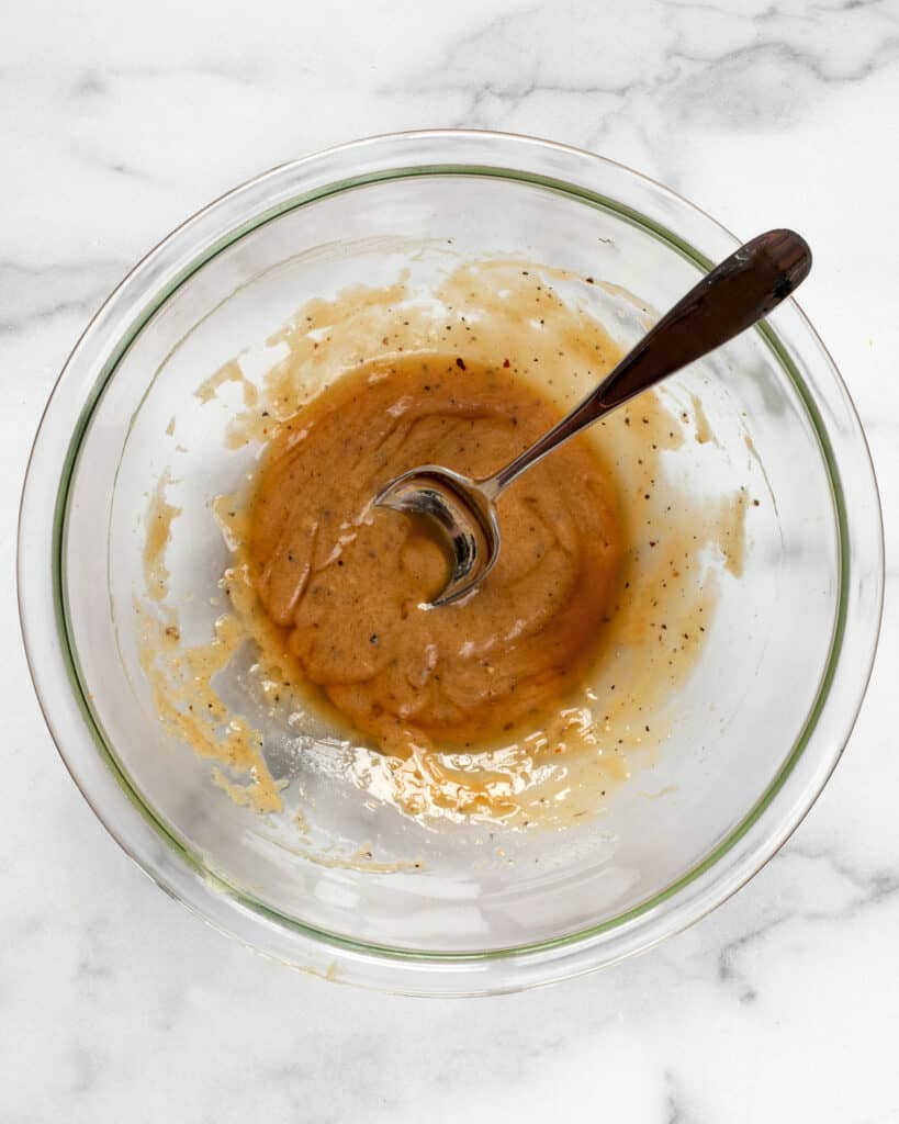 Whisk together miso marinade
