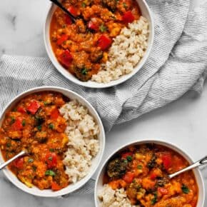 Vegetable Coconut Curry